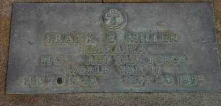 MILLER, FRANK E. - Washington County, Oregon | FRANK E. MILLER - Oregon Gravestone Photos