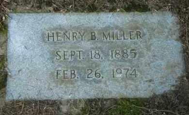 MILLER, HENRY B. - Washington County, Oregon | HENRY B. MILLER - Oregon Gravestone Photos