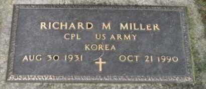 MILLER (KOR), RICHARD M. - Washington County, Oregon | RICHARD M. MILLER (KOR) - Oregon Gravestone Photos