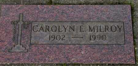 MILROY, CAROLYN E. - Washington County, Oregon | CAROLYN E. MILROY - Oregon Gravestone Photos