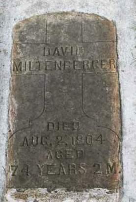 MILTENBERGER, DAVID - Washington County, Oregon | DAVID MILTENBERGER - Oregon Gravestone Photos
