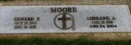 MOORE, LORRAINE A. - Washington County, Oregon | LORRAINE A. MOORE - Oregon Gravestone Photos