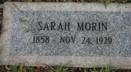 MORIN, SARAH - Washington County, Oregon | SARAH MORIN - Oregon Gravestone Photos