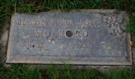 JOLLY, HATTIE MARIE - Washington County, Oregon | HATTIE MARIE JOLLY - Oregon Gravestone Photos