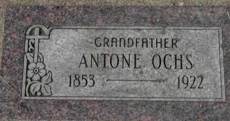 OCHS, ANTONE - Washington County, Oregon   ANTONE OCHS - Oregon Gravestone Photos