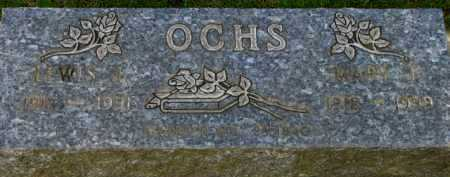 OCHS, LEWIS J. - Washington County, Oregon   LEWIS J. OCHS - Oregon Gravestone Photos