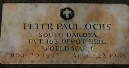 OCHS, PETER PAUL - Washington County, Oregon | PETER PAUL OCHS - Oregon Gravestone Photos
