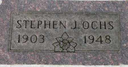 OCHS, STEPHEN J. - Washington County, Oregon   STEPHEN J. OCHS - Oregon Gravestone Photos
