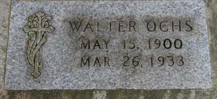 OCHS, WALTER - Washington County, Oregon   WALTER OCHS - Oregon Gravestone Photos