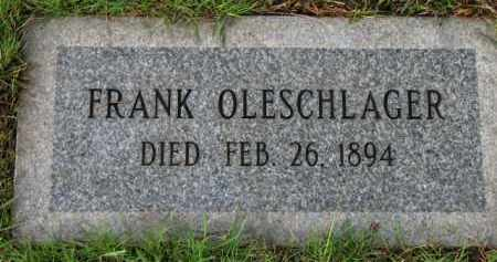 OLESCHLAGER, FRANK - Washington County, Oregon | FRANK OLESCHLAGER - Oregon Gravestone Photos