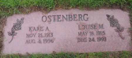 OSTENBERG, KARL A - Washington County, Oregon   KARL A OSTENBERG - Oregon Gravestone Photos