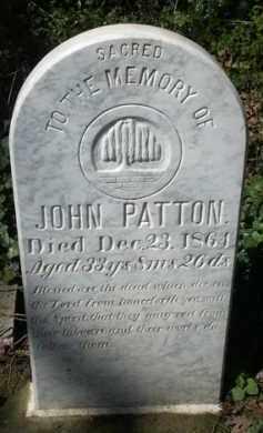 PATTON, JOHN - Washington County, Oregon | JOHN PATTON - Oregon Gravestone Photos