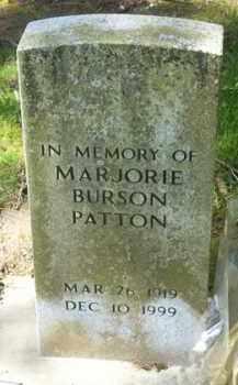 BURSON PATTON, MARJORIE - Washington County, Oregon | MARJORIE BURSON PATTON - Oregon Gravestone Photos