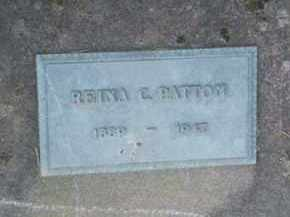 PATTON, REINA C. - Washington County, Oregon | REINA C. PATTON - Oregon Gravestone Photos