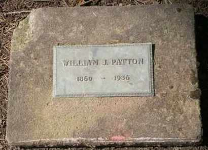 PATTON, WILLIAM J. - Washington County, Oregon   WILLIAM J. PATTON - Oregon Gravestone Photos