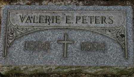 PETERS, VALERIE E. - Washington County, Oregon | VALERIE E. PETERS - Oregon Gravestone Photos