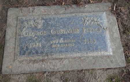 PIERCE, GEORGE GUSTAVUS - Washington County, Oregon   GEORGE GUSTAVUS PIERCE - Oregon Gravestone Photos