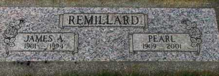 REMILLARD, JAMES A. - Washington County, Oregon | JAMES A. REMILLARD - Oregon Gravestone Photos