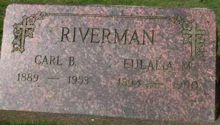 RIVERMAN, CARL B. - Washington County, Oregon | CARL B. RIVERMAN - Oregon Gravestone Photos