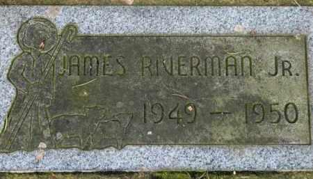 RIVERMAN, JAMES JR. - Washington County, Oregon | JAMES JR. RIVERMAN - Oregon Gravestone Photos