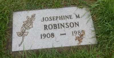 ROBINSON, JOSEPHINE M - Washington County, Oregon   JOSEPHINE M ROBINSON - Oregon Gravestone Photos