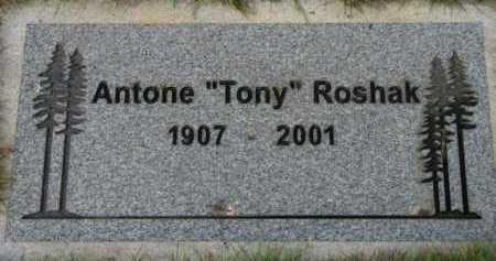 ROSHAK, ANTONE - Washington County, Oregon | ANTONE ROSHAK - Oregon Gravestone Photos