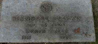 ROSHAK, THEODORE - Washington County, Oregon | THEODORE ROSHAK - Oregon Gravestone Photos