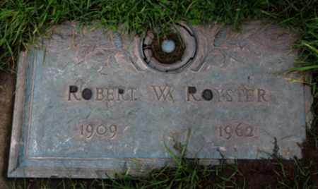 ROYSTER, ROBERT W - Washington County, Oregon | ROBERT W ROYSTER - Oregon Gravestone Photos