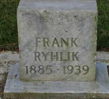 RYHLIK, FRANK - Washington County, Oregon   FRANK RYHLIK - Oregon Gravestone Photos