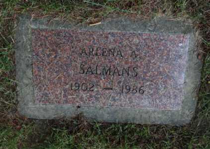SALMANS, ARLENA A - Washington County, Oregon | ARLENA A SALMANS - Oregon Gravestone Photos