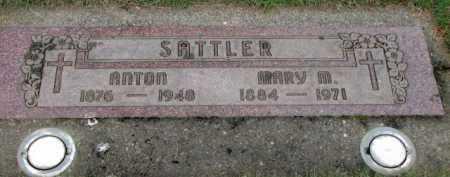 SATTLER, ANTON - Washington County, Oregon   ANTON SATTLER - Oregon Gravestone Photos