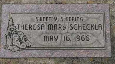 SCHECKLA, THERESA MARY - Washington County, Oregon | THERESA MARY SCHECKLA - Oregon Gravestone Photos