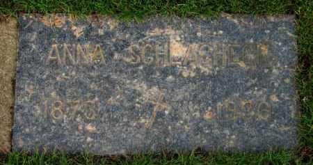 SCHLAGHECK, ANNA - Washington County, Oregon   ANNA SCHLAGHECK - Oregon Gravestone Photos