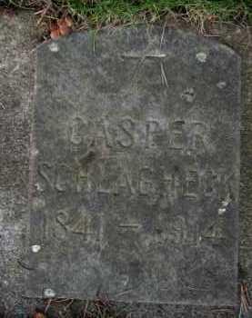 SCHLAGHECK, CASPER - Washington County, Oregon   CASPER SCHLAGHECK - Oregon Gravestone Photos