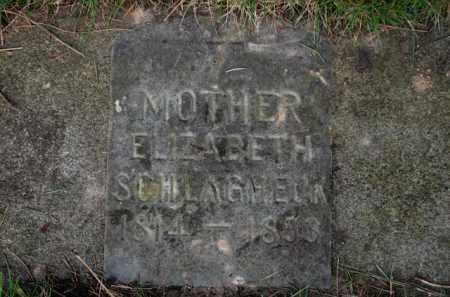 SCHLAGHECK, ELIZABETH - Washington County, Oregon | ELIZABETH SCHLAGHECK - Oregon Gravestone Photos