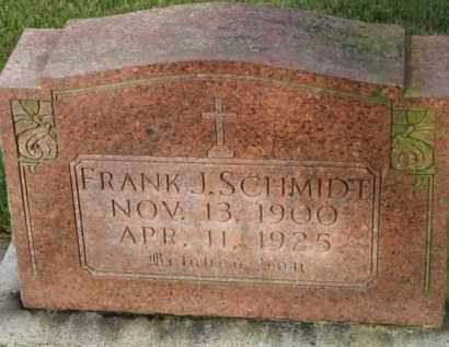 SCHMIDT, FRANK J. - Washington County, Oregon | FRANK J. SCHMIDT - Oregon Gravestone Photos