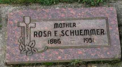 SCHUEMMER, ROSA E. - Washington County, Oregon | ROSA E. SCHUEMMER - Oregon Gravestone Photos