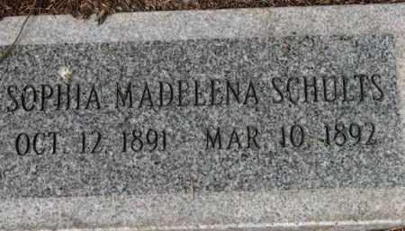 SCHULTS, SOPHIA MADELENA - Washington County, Oregon | SOPHIA MADELENA SCHULTS - Oregon Gravestone Photos