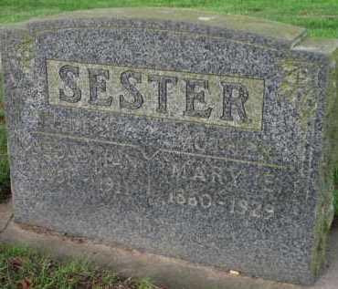 SESTER, MARY E. - Washington County, Oregon   MARY E. SESTER - Oregon Gravestone Photos