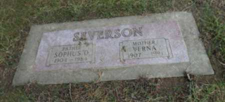 SEVERSON, SOPHUS D - Washington County, Oregon | SOPHUS D SEVERSON - Oregon Gravestone Photos
