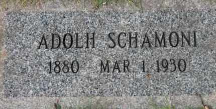 SHAMONI, ADOLH - Washington County, Oregon   ADOLH SHAMONI - Oregon Gravestone Photos
