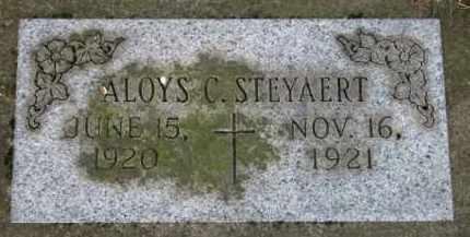 STEYAERT, ALOYS C. - Washington County, Oregon | ALOYS C. STEYAERT - Oregon Gravestone Photos