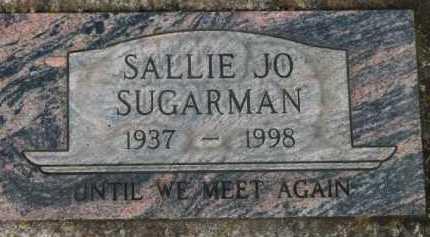 SUGARMAN, SALLIE JO - Washington County, Oregon   SALLIE JO SUGARMAN - Oregon Gravestone Photos