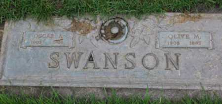 SWANSON, OLIVE M - Washington County, Oregon | OLIVE M SWANSON - Oregon Gravestone Photos