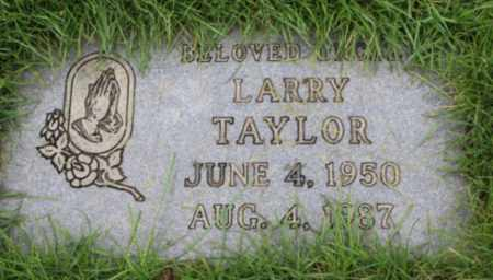 TAYLOR, LARRY - Washington County, Oregon | LARRY TAYLOR - Oregon Gravestone Photos