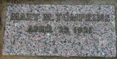 TOMPKINS, MARY M. - Washington County, Oregon   MARY M. TOMPKINS - Oregon Gravestone Photos