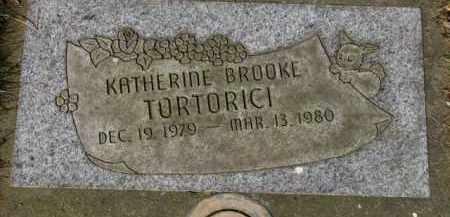 TORTORICI, KATHERINE BROOKE - Washington County, Oregon   KATHERINE BROOKE TORTORICI - Oregon Gravestone Photos