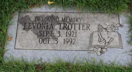 TROTTER, LEVONIA - Washington County, Oregon   LEVONIA TROTTER - Oregon Gravestone Photos
