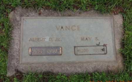 VANCE, ALBERT D - Washington County, Oregon | ALBERT D VANCE - Oregon Gravestone Photos