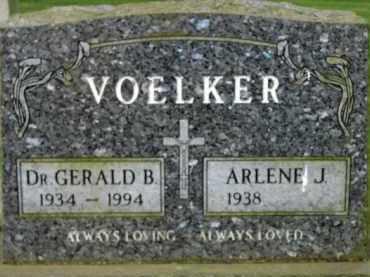 VOELKER, GERALD B. - Washington County, Oregon   GERALD B. VOELKER - Oregon Gravestone Photos